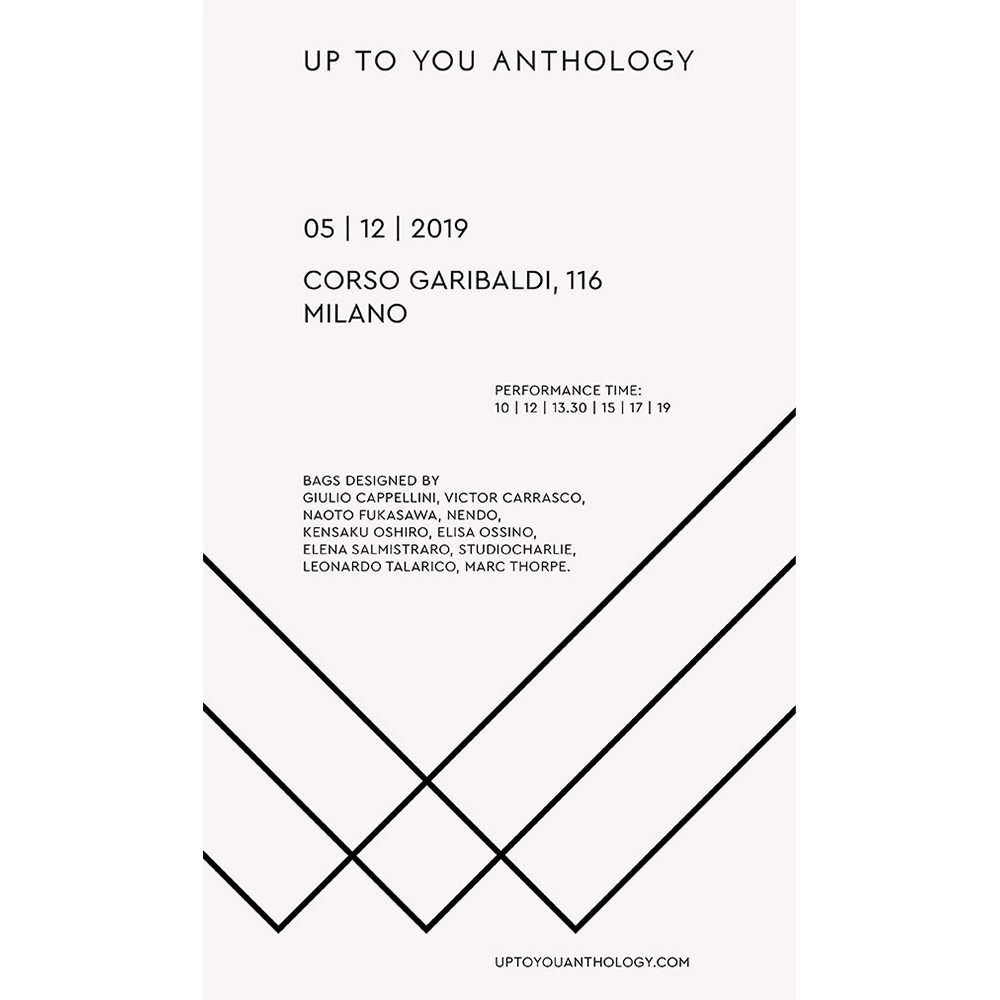 UP TO YOU ANTHOLOGY | 5/12/2019